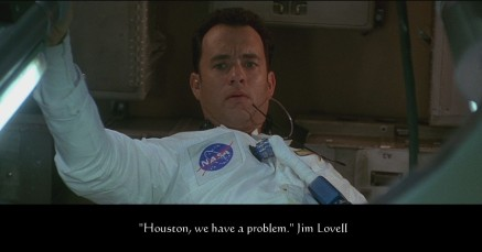 Houston we have a problem - Apollo 13