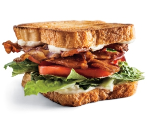 Random analogy: take a BLT and insert tofu in place of the bacon. Think it would still look so appetizing?