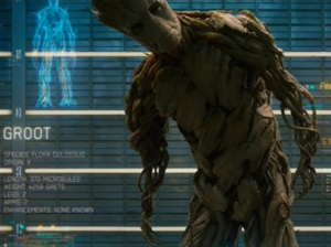 """""""I am Groot?"""" Translation: Are all Terrans that thick?"""