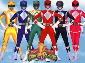 """Go, go, Power Rangers! Without the slash!"""