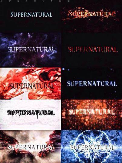 A supernatural experience merlin 39 s musings - Supernatural season 8 title card ...