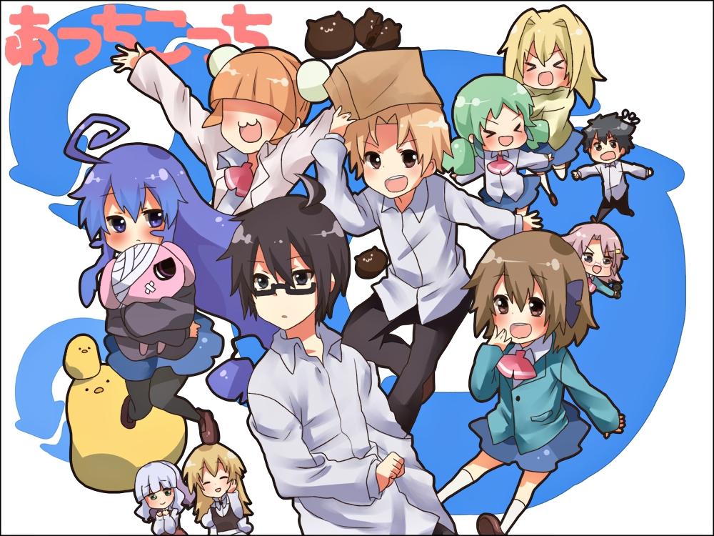 5 Anime Friend Groups Merlin S Musings